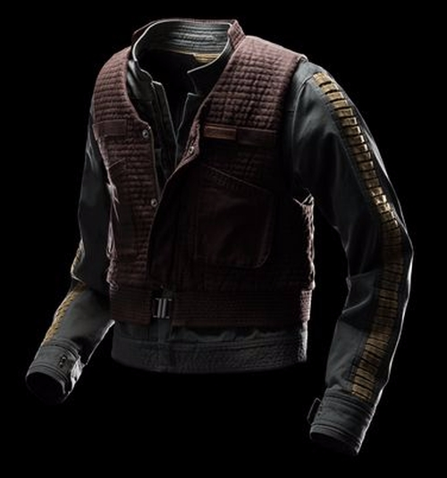 Jyn Erso Rebel Jacket by Columbia in Rogue One: A Star Wars Story