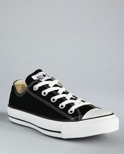 Unisex Low Top Sneakers by Converse in The Town