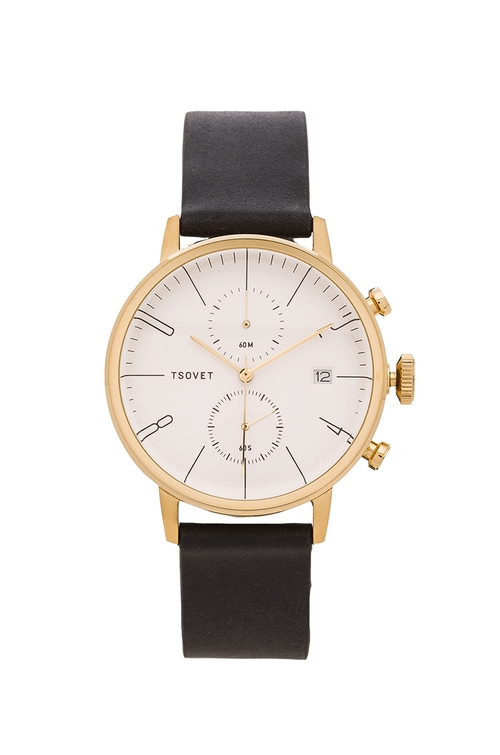Leather Strap Watch by Tsovet in The Night Of - Season 1 Looks