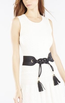 Tie Tassel Belt by BCBGMAXAZRIA in Pretty Little Liars