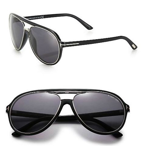 Sergio Aviator Sunglasses by Tom Ford Eyewear in Furious 7