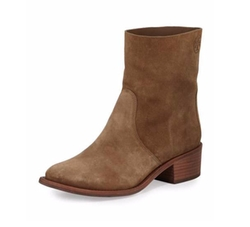 Siena Suede Booties by Tory Burch in Transformers: The Last Knight