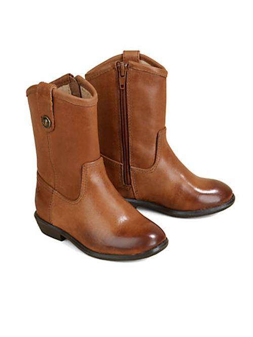 Infant's, Toddler's & Girl's Melissa Leather Cowboy Boots by Frye in Addicted