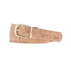 Reversible Cork and Leather Belt by J. Crew in Sisters