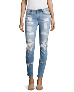 Icon Distressed Skinny Jeans by RtA Denim in Keeping Up With The Kardashians