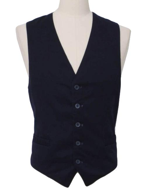 1970's Mens Suit Vest by Worn Label in Get On Up