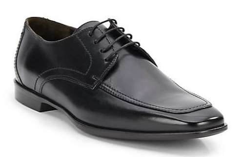 Square-Toe Lace-Up Oxford Shoes by Bruno Magli in Terminator: Genisys