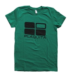 Crew Neck T-Shirt by Plaquita in Barely Lethal