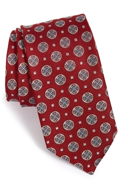 'Brunswick Neat' Silk Tie by John W. Nordstrom in Scandal
