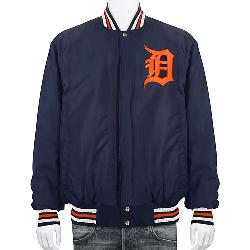 Detroit Tigers Varsity Wool Jacket by JH Design in Blended