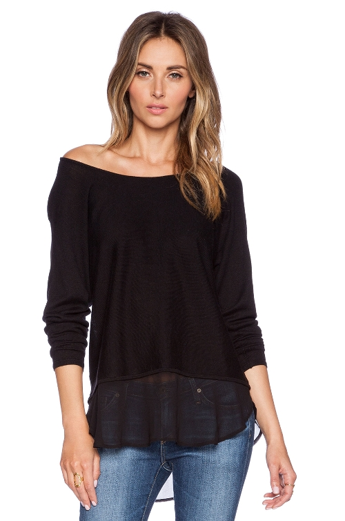 Columbus Off The Shoulder by Sweater Central Park West in Mean Girls