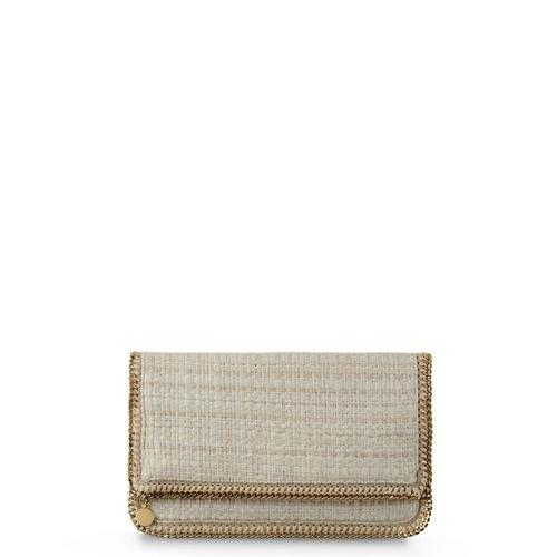 Falabella Fold Over Boucle Clutch by Stella Mccartney in The Other Woman