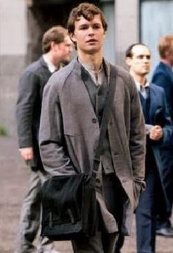 Custom Made Caleb Prior Abnegation Cardigan by Carlo Poggioli (Costume Designer) in Divergent