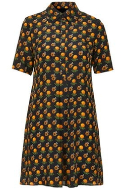Marigold Shirt Dress by Boutique by Topshop in Pretty Little Liars