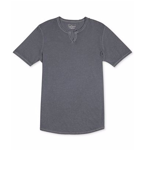 Split-Neck Slub T-Shirt by Lucky Brand in Flaked - Season 1 Preview