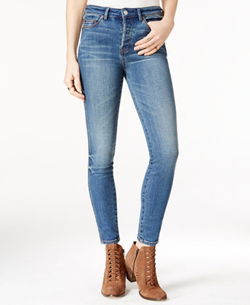 Relaxed Skinny Jeans by Free People in Free Fire