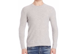 Cashmere Crewneck Sweater by Polo Ralph Lauren in New Girl