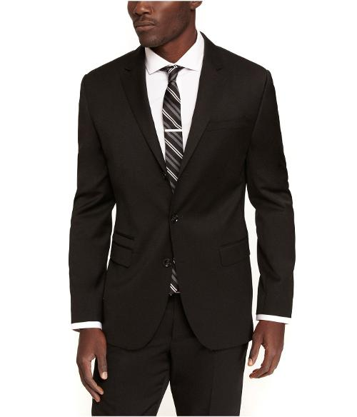 Three Button Stretch Wool Photographer Suit Jacket by EXPRESS in Inception