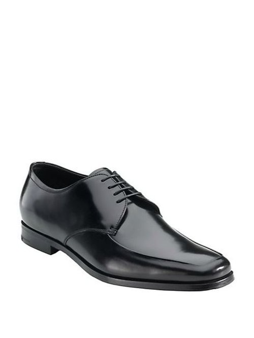 Apron Front Leather Oxfords Shoes by Prada in John Wick