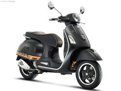 GTS Super Scooter by Vespa in Spy