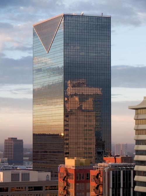 Centennial Tower Atlanta, Georgia in Captive