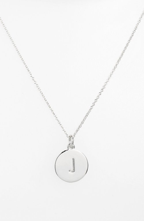'One in a Million' Initial Pendant Necklace by Kate Spade New York in Entourage