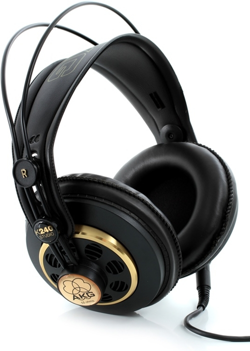 K240 Studio Semi-Open Headphones by AKG in Straight Outta Compton