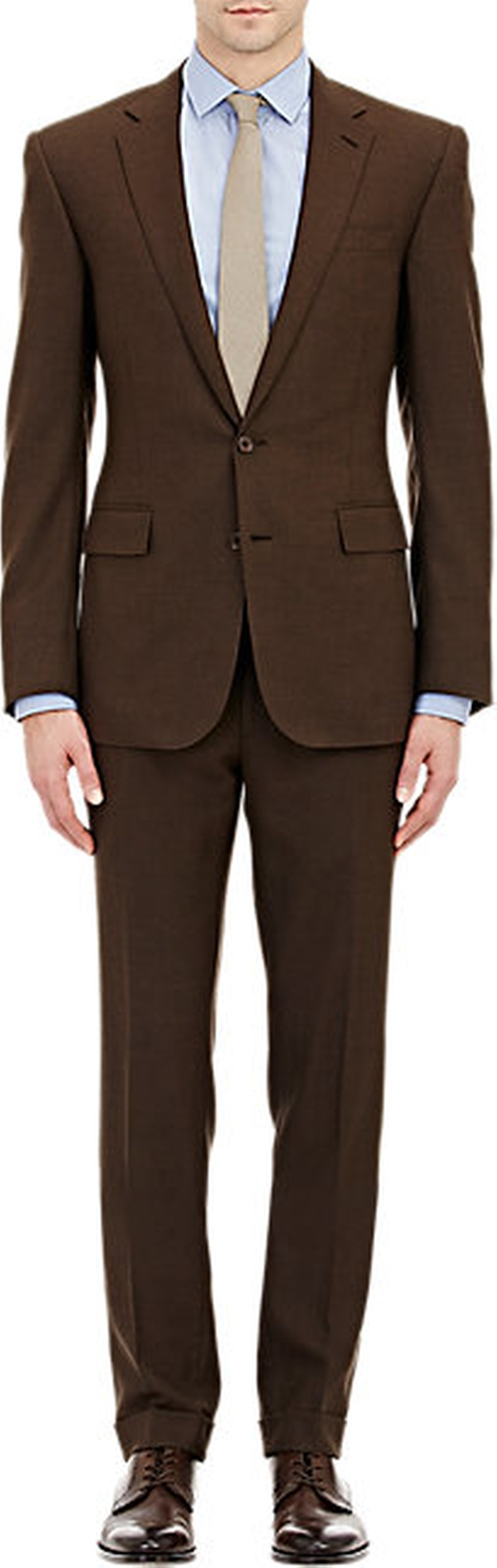 Anthony Two-Button Suit by Ralph Lauren Black Label in Sex and the City