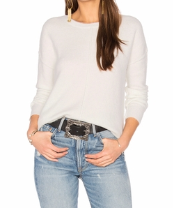 Cicely Sweater by John & Jenn By Line in Power