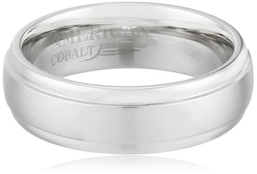 Domed Satin Center Band Ring by American Cobalt in The Big Bang Theory