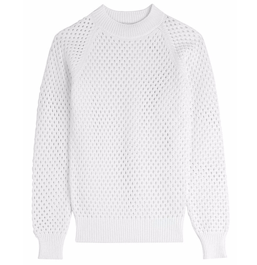 Hannah Conway's White Carven Knit Pullover Sweater from House of ...