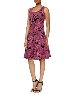 Floral Intarsia-Knit Dress by M Missoni in The Mindy Project