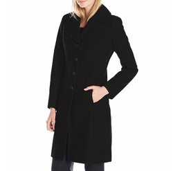 Classic Walker Wool Coat by Tommy Hilfiger in Bridget Jones's Baby