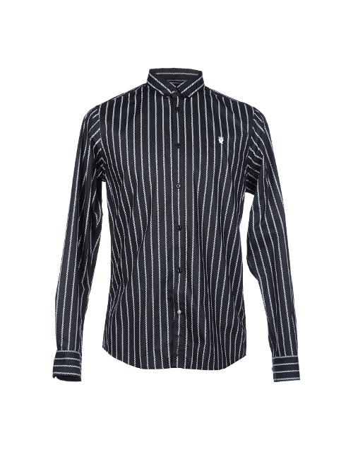 Striped Button Down Shirt by Ben Sherman in Couple's Retreat