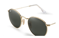Round Metal Green Classic by Ray-Ban in Dope