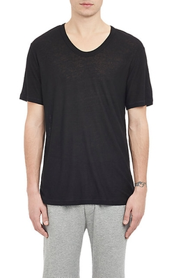 Slub Oversize T-Shirt by T By Alexander Wang in Knock Knock