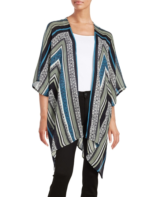 Printed Kimono Cardigan by California Moonrise in Unbreakable Kimmy Schmidt - Season 2 Episode 3