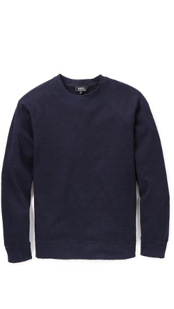 Outdoor Sweatshirt by A.P.C. in Adult Beginners