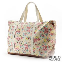 Floral Overnight Tote by Candie's in Get On Up