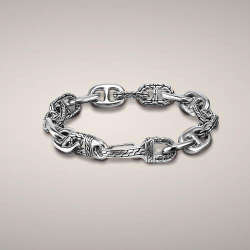 Large Anchor Rode Link Bracelet by John Hardy in Savages