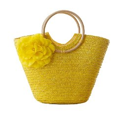 Summer Straw Bag by Tonwhar in (500) Days of Summer