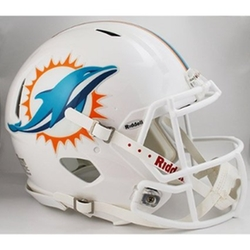 Miami Dolphins NFL Football Helmet by Riddell in Ballers