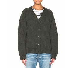 Maggie Cardigan by Golden Goose in Guilt
