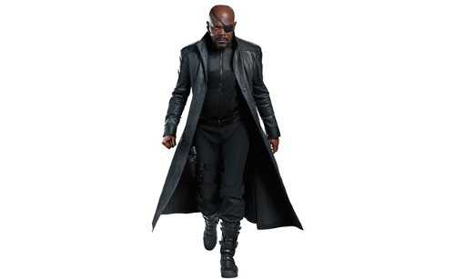 Custom Made 'Nick Fury' Boots by Alexandra Byrne (Costume Designer) in Marvel's The Avengers