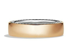Streamline Narrow Band Ring by David Yurman in Sicario