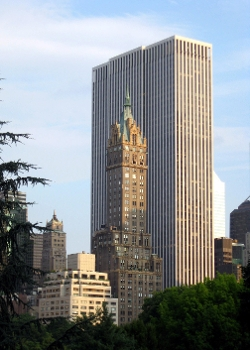 New York City, New York by General Motors Building in Fantastic Four