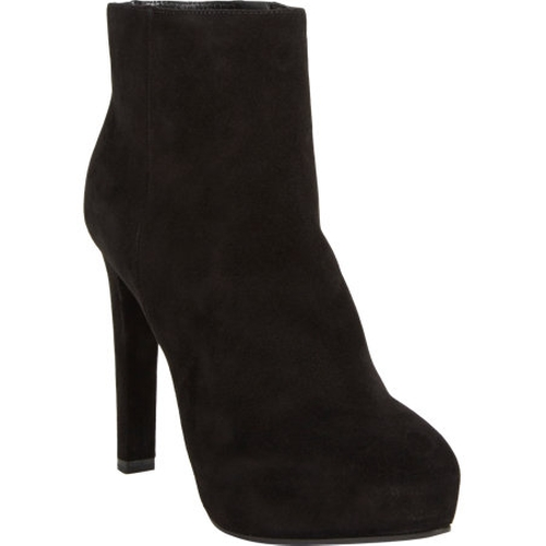 Suede Platform Ankle Boots by Prada in Need for Speed