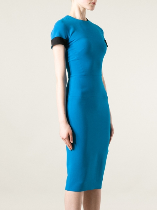 Short Sleeve Dress by Victoria Beckham in Trainwreck