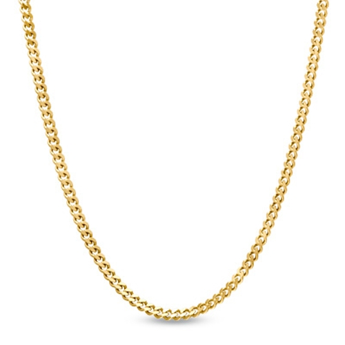 Curb Link Chain Necklace by Peoples in Dope