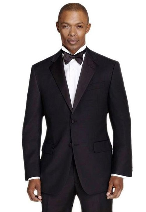 Men's Slim Fit Tuxedo Suit by Calvin Klein in The Best of Me